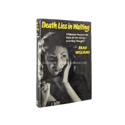 Death Lies In Waiting by Brad Williams First Edition Herbert Jenkins 1960